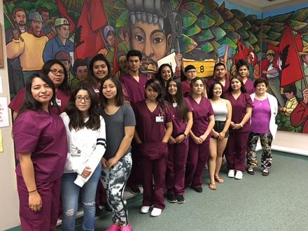CNA Students at SRJC